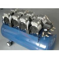 China Low Voice Industrial Oilless Air Compressor With Aluminum Alloy Cylinder Head on sale