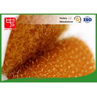 Orange colour die cutting hook and loop hook and loop dots with adhesive backing Manufactures
