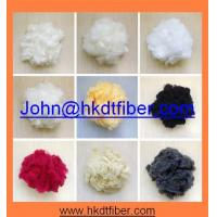 Dope dyed color PES fiber 1.5D/2D x38MM,51MM for Non-woven and garments Manufactures