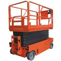 Scissors Type Warehouse Lift Platform 6 - 12m 2.27 * 0.81m Table Size Easy Operation Manufactures