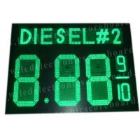 Highway Service Station Digital Gas Price Signs 900mm X 1200mm X 100mm Manufactures