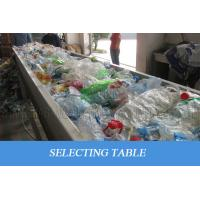 Waste Plastic PET Bottle Recycling Machine Scrap Flakes Crushing Washing Drying Manufactures