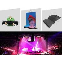 Patented 360 degrees flexible LED displays for concert backdrops Manufactures