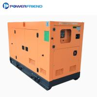 China Excellent AC Three Phase 50KW 63KVA Electric Start Silent Diesel Generator on sale