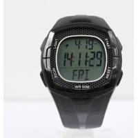 Water Resistant Sport Wrist Watches 3 ATM Calorie Counter Heart Rate Monitor Manufactures