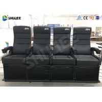 2DOF 4D Cinema Equipment For Update 3D Theater 50-150 Seats To Attract More People Manufactures