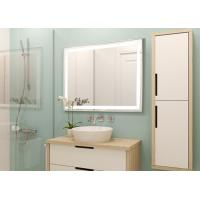 China Multi Function Smart LED Bathroom Mirror / LED Illuminated Mirrors For Bathrooms on sale