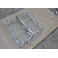 Customized Stainless Steel Metal Wire Basket With Polished