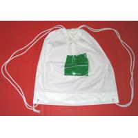 Waterproof Drawstring Plastic Backpack Bag With Factory Price For Travelling , Promotion , Sports for sale