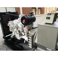 White Electric Start Inboard Boat Engines For 60HZ 100KW Marine Generator Set​ Manufactures
