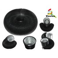 Double Layer Flexible Round Duct PVC Aluminum For Ventilation System Manufactures