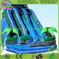 2015 inflatable game toys used playground inflatable slides for sale Manufactures