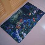 Eco-Friendly Washable Rubber Floor Carpet , Durable Workshop Rubber Floor Mats Manufactures