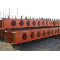 China Honeycomb Structural Steel Beams Q235b Q345b Grade For Main Support on sale