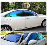 Car Side Window Sunshade Sticker , Self Adhesive Windshield Protection Film For Vehicle Screen