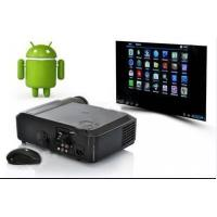China 1080P Digital LCD Projector WIth Android 4.04 System & Wifi For Home Theatre on sale