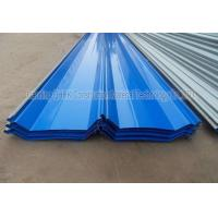 China Corrosion Resistant Prepainted Steel Corrugated Roofing Sheets Long Life Span on sale