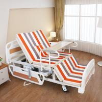 Medical Equipments Electric Nursing Bed With Jiecang Motor Punching Bed Board Manufactures