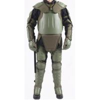 Army green color riot control gear  of Police Protective  Anti Riot Suit Manufactures