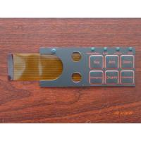 Customized Push Button Touch Screen Keyboard Membrane Switch 0.05mm - 1.0mm Manufactures
