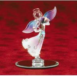 China GLOWING GLASS ANGEL on sale