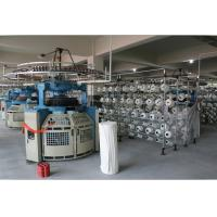Double Jersey Circular Weft Knitting Machine For Pure Cotton / Chemical Fiber Manufactures