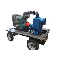 2/3/4/6/8/10/12 inch self priming trash pump at construction site Manufactures