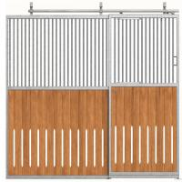 Portable Galvanized Steel Pipe Horse Stable Fence Panel As Paddock Manufactures