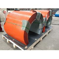 Simple Operation Conveyor Belt Covers / Cleated Conveyor Belt Hoods Manufactures