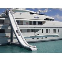 Customized Inflatable Water Sports, Inflatable Water Slide For Yacht Ship Manufactures