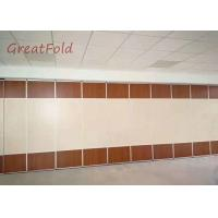 Customized wooden partition wall panel interior wall partition for banquet/restaurant OEM service Manufactures