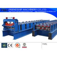 Quality YX51-240-720 Type Metal Deck Roll Forming Machine Uesd 1.0-1.5mm Thickness PPGI for sale