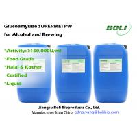 Saccahrification Enzymes Glucoamylase Enzyme Activity 150,000 U / Ml For Alcoholic and Brewing Manufactures