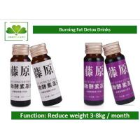 Chinese natural Botanical Extract slimming drink Oral Natural Detox Drinks For Colon Detox / Cleanse Manufactures