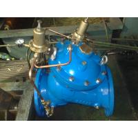 Diaphragm type adjustable YX741X Reducing / Sustaining Water Control Valve Manufactures