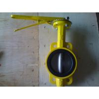 API 609 / ISO 5752 / BS5155 Standard One Shaft With Pin Type Wafer Butterfly Valve Manufactures