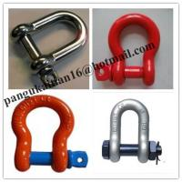 Screw Pin Bow Shackle& D- Shackle,Standard D Shackle&forged Shackle Manufactures