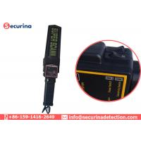 Three Button Security Metal Detector Wand For Hotels / Shopping Mall / Church Manufactures
