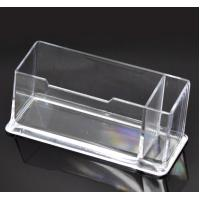 Clear Plastic Business Card Holder Stand Manufactures