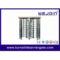 Security Double Turnstile , Routeway Office Building Full Height Gate Turnstile Manufactures