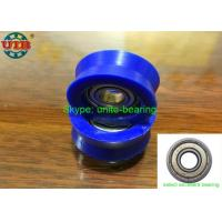 High Carbon Steel Bearing Housing Types , 605 ZZ Plastic Wrapped Wheel Bearing Manufactures