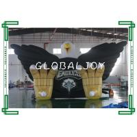 Sporting Giant Inflatable Eagle Tunnel , Custom 3d Inflatable Tubular Tunnel for sale