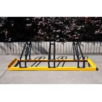 Quality Outdoor Motorcycle Metal Display Stands To Protect Rain / Wind for sale