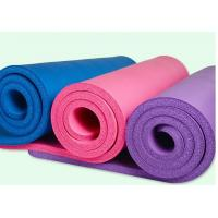 High Quality 20MM Thickening PVC Yoga Mat Fitness Non Slip Mat Floor Mat With Brand Your Own Logo , Good Elasticity Manufactures
