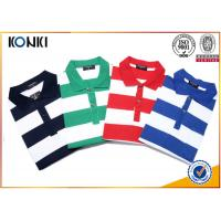 Quality Fashion Style Custom Polo Shirt Classic Mens 100% Cotton Yarn Dyed Stripe for sale