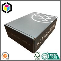 Black Color Print Custom Logo Corrugated Shipping Box; Cardboard Mailing Box Manufactures