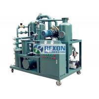 China Low Noise Transformer Oil Recycling Machine With Vacuum Oil Filling on sale