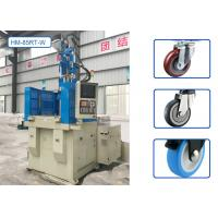 High Efficiency Vertical Injection Molding Machine HM-85RT-W For Trailer Wheel Manufactures