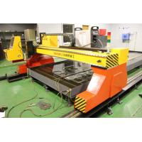 China High Efficiency 220 - 440V Two Torch CNC Cutting Machine / ESAB Plasma Cutter on sale