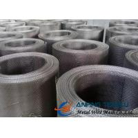 China Plain Weave Square Woven Wire Mesh, SS304 & SS316 With Standard AISI on sale